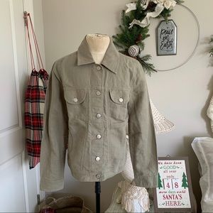 J.Jill Linen Cotton Blend Jacket